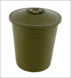 Plastic Dustbin With Cover