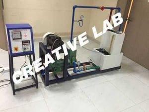 Industrial Use Reciprocating Pump Test Rig