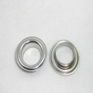 Polished Stainless Steel Eyelets