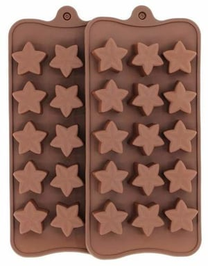 Silicone Star Shapes Cookies Mould
