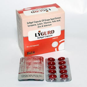 Softgel Capsule of Grape Seed Extract