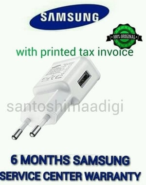 Samsung Mobile Phone 2 Ampere Plastic USB Charger