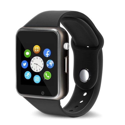 Hytouch A1 Smart Watch With Camera And Sim Card Support With Apps Like Whatsapp And Facebook For All 3g & 4g Android/ios Smart Phones
