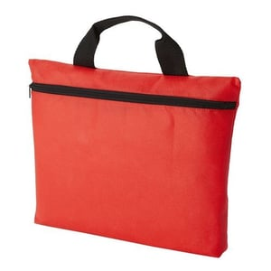 Red Polyester Conference Bag