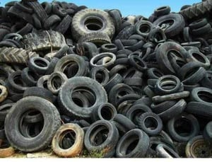 Used Rubber Scrap Tyres