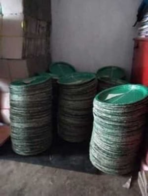 Round Disposable Buffer Plate