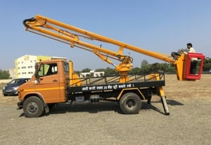 Commercial Hydraulic Sky Lift