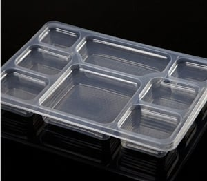 PET PP Disposable Meal Tray