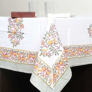 Hand Block Printed Table Cover (TBL-3)