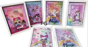 Fancy Kids Plastic LED Notebook Diary