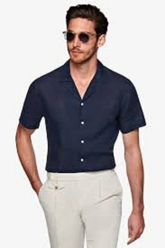 Mens Short Sleeve Casual Shirt Age Group: Adult