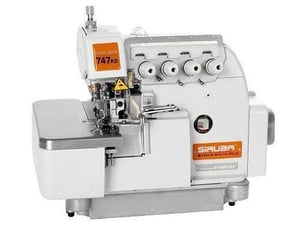 Overlock Sewing Machine with Active Lubrication System