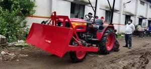 Tractor Mounted Front End Dozer