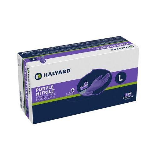 Halyard Purple Nitrile Powder Free Exam Gloves