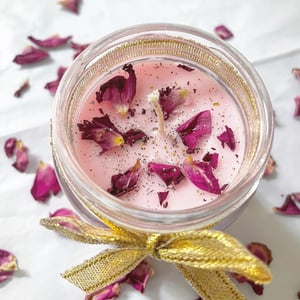 Indian Rose Scented Soy Candle