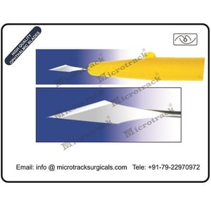 Lancetip 45degree Ophthalmic Micro Surgical Knife