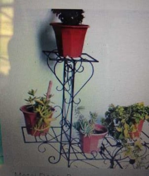 Cast Iron Hanging Stand for Plants