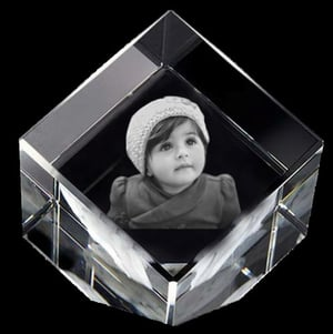Personalized Crystal Gifts With 3D Laser Engraving