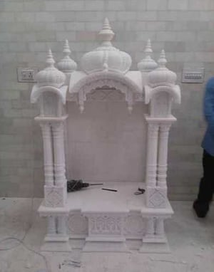 White Color Marble Temple