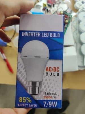 AC DC Rechargeable 9W Inverter LED Bulb
