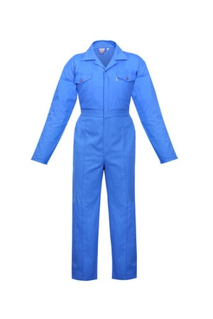 Cotton Comfort Coverall (Pale Blue)