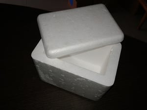 Molded Thermocol Medical Box