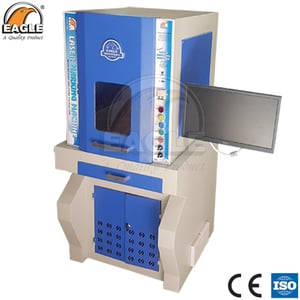 Eagle Jewelry Laser Marking and Cutting Machine for Goldsmith