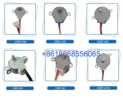 Factory Directly Supply 20byj46, 24byj, 28byj48, 24byj48, 30byj, 30byj46, 35byj46, 35byj412 DC Stepper Motor