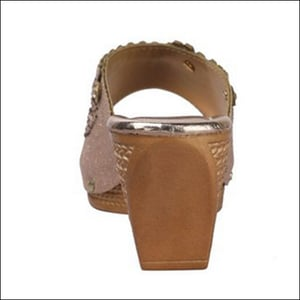 Synthetic Leather Ladies Sandals