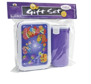 Lunch Box And Bottle School Gift Set