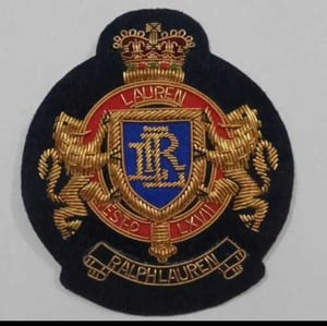 Embroidered Ralph Lauren Patches