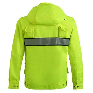 Full Sleeves Polyester Safety Jacket
