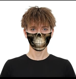 3 Layer Printed Face Mask