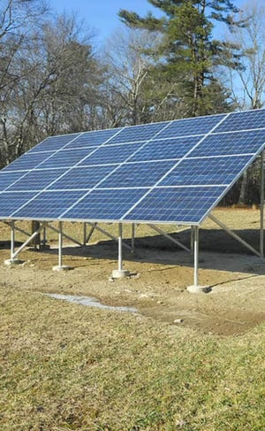 Heavy Duty Solar Panel Mounting Structure