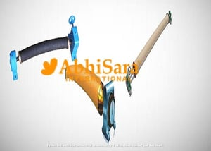 Abrasion Resistant Bow Roll