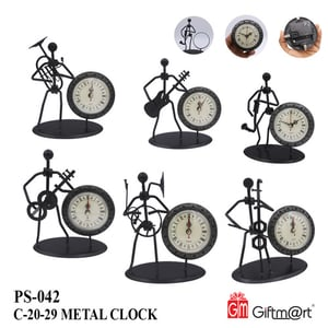 Attractive Pattern Table Clock