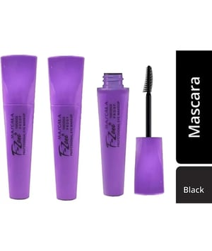 F-Zone Water Proof And Smudge Proof Professional Mascara 03 24 ml (Black)