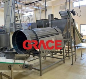 Industrial Snack Processing Machine