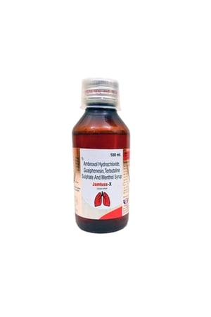 Jamtuss X Cough Syrup 100ml