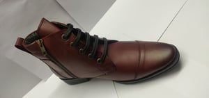 Lace Up Mens Leather Boot