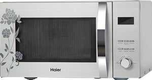 Haier 23 Liters Silver Auto Defrost Convection Microwave Oven