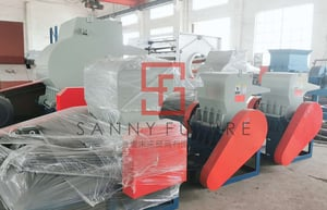 SY-HS Waste Plastic/Wasted Drum/PVC Pipe Crusher