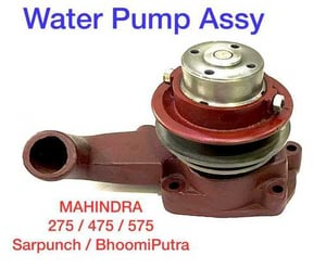 Water Pump Assy For Tractors