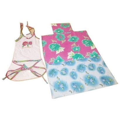 Multi Color Baby Bedding With Apron