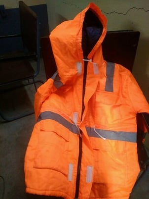 Full Sleeves Winter Safety Jacket