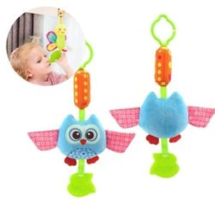 Baby Music Rattles Bell Ring Hanging Toy