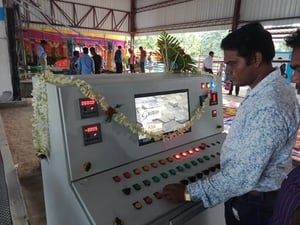 Batching Control Panel Cabinet