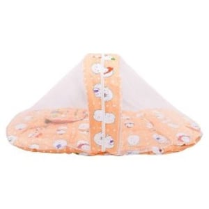 New Born Baby Bed With Mosquito Net And Pillow