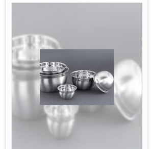 Stainless Steel Plain Mixing Bowl