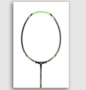 Professional Titanium Frame Single Joint Badminton Racket For Sports Lovers